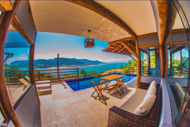 Casas no estilo Airbnb no litoral norte de SP - Ilhabela