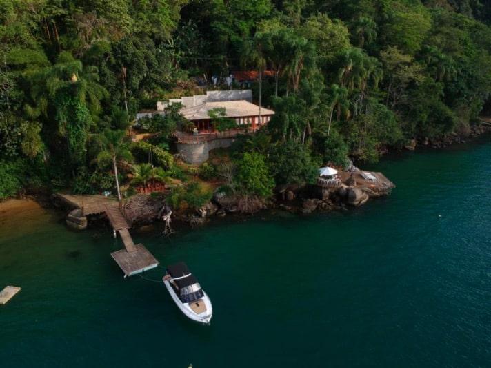 Casa para alugar próximo à mata atlântica em Paraty