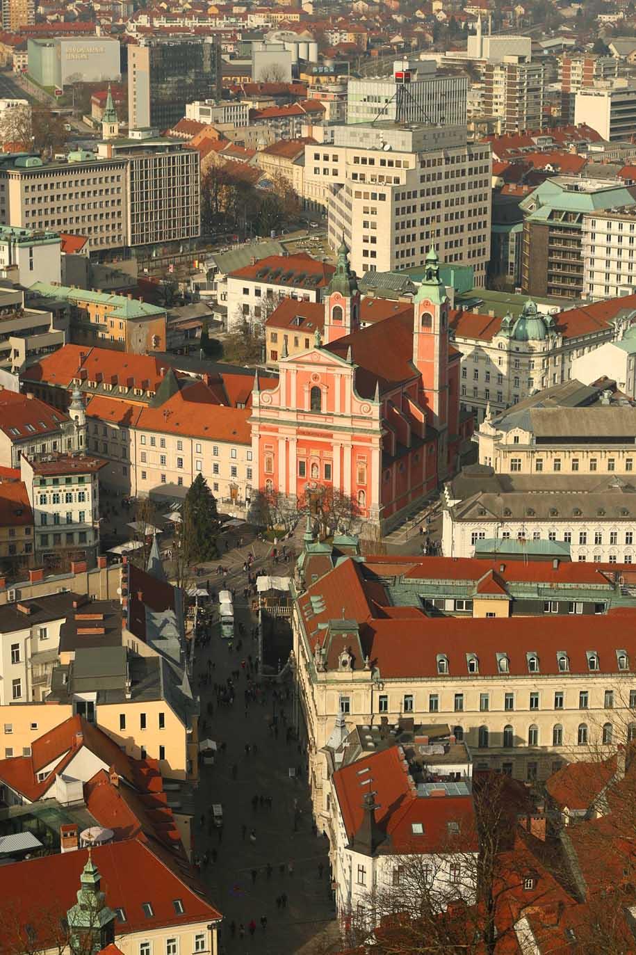 centro histórico de liubliana, eslovênia