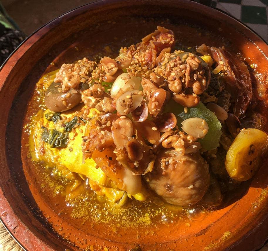 comida marroquina tagine royale