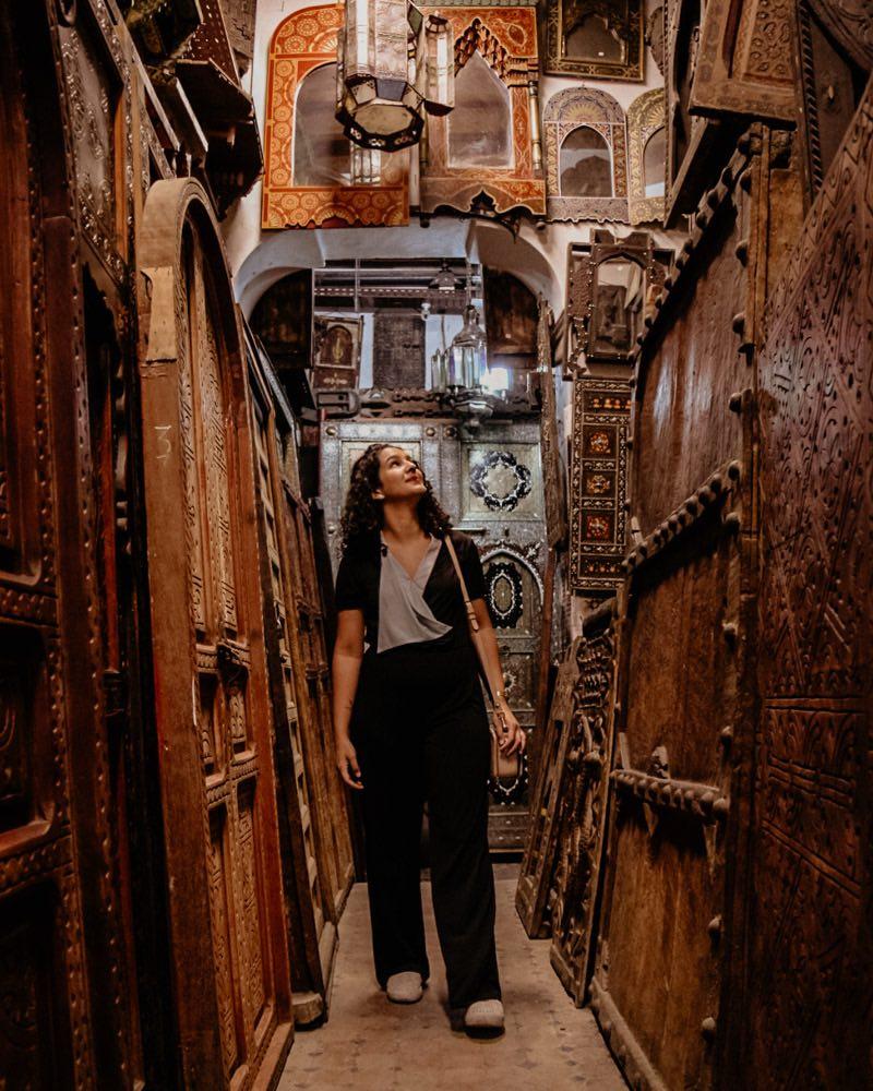 compras em marrakech artesanato complexo