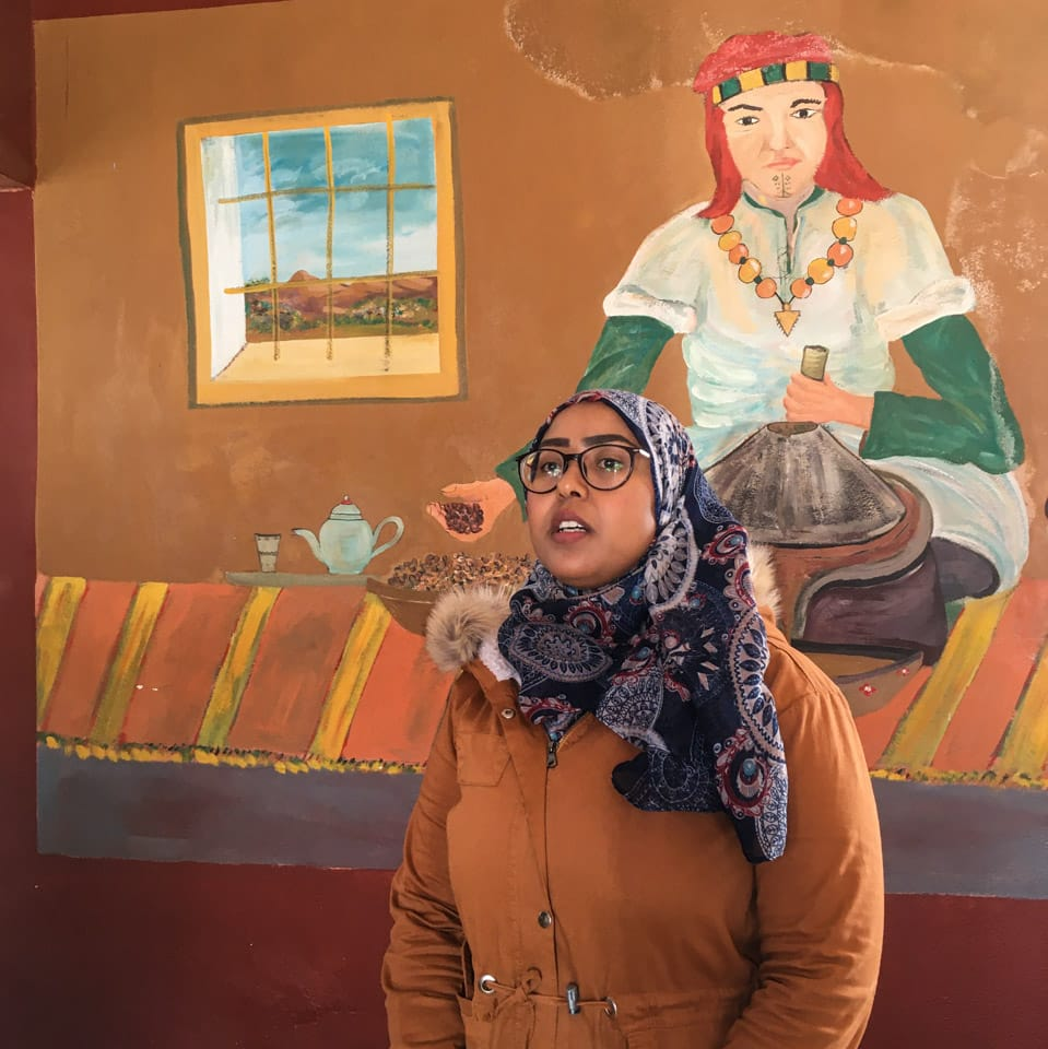 cooperativa mulheres produtoras de oleo de argan