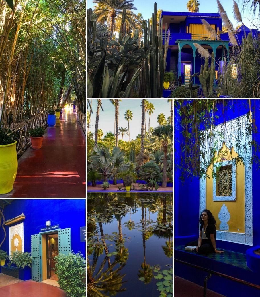 jardim majorelle marrache marrocos