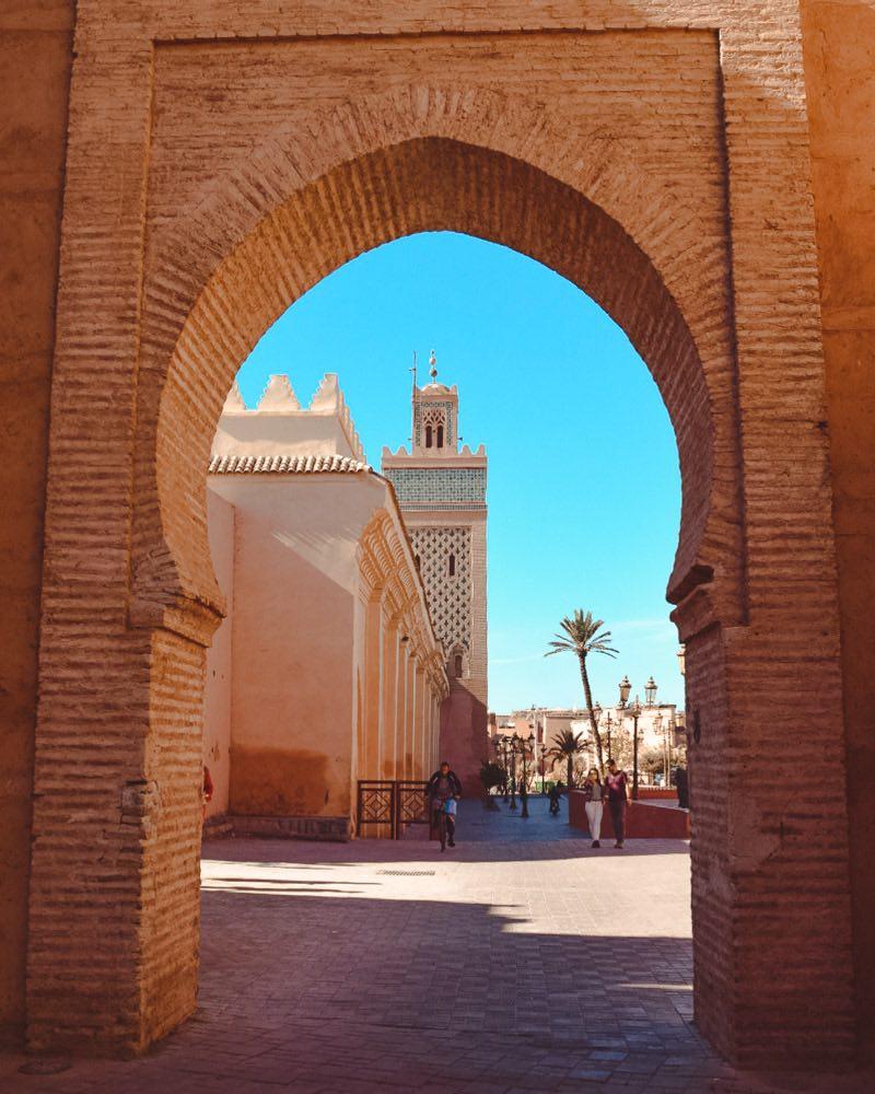 o que fazer em marrakech marrocos bairro e mesquita lasbah