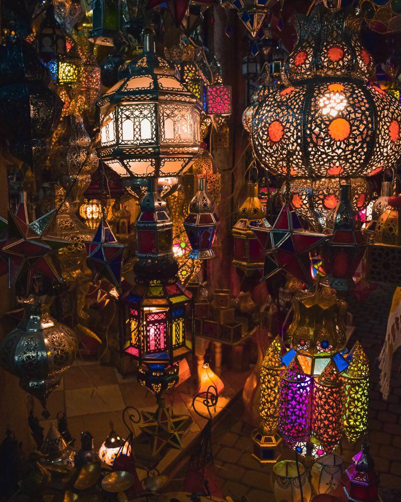 o que fazer em marrakech mercados e souks