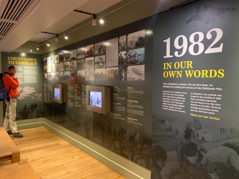 museu stanley guerra 1982 memorial
