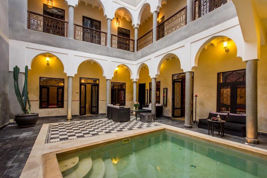 onde ficar em marrakech riad dar el masa