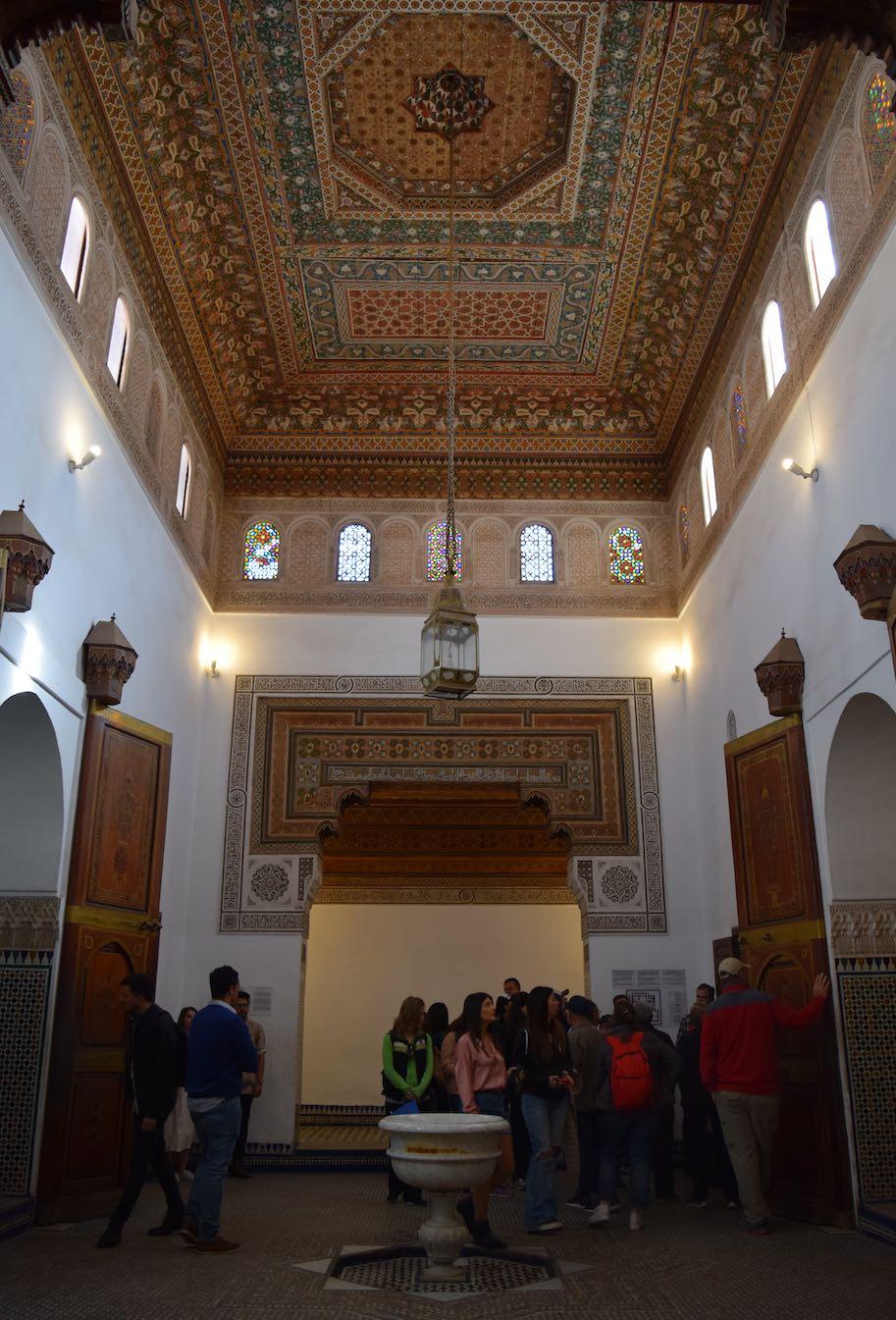 palacio bahia viagem ao marrocos roteiro