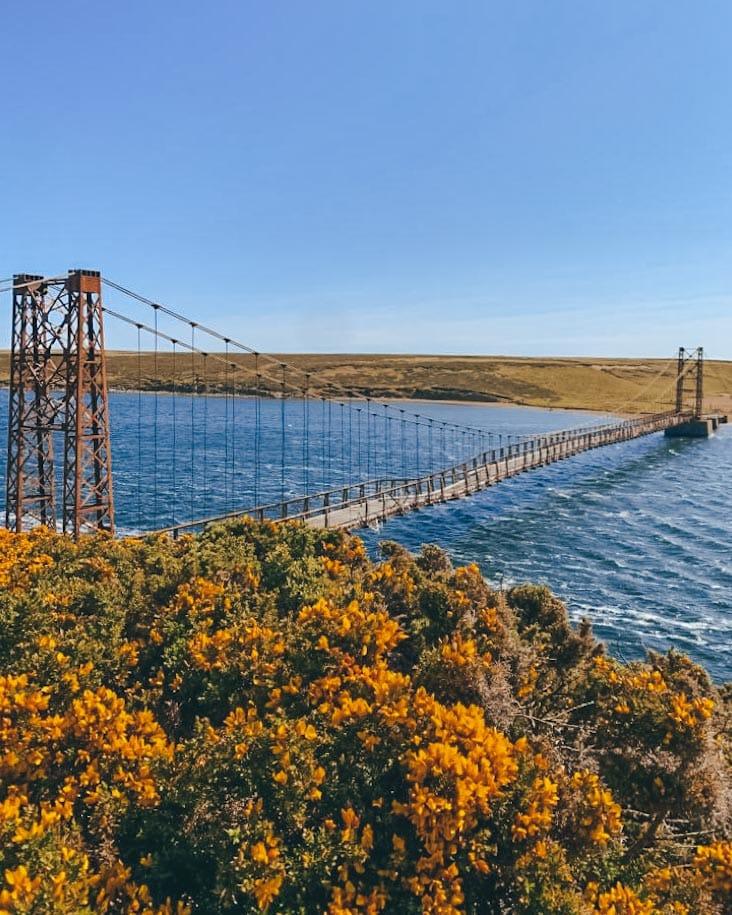 ponte em goose green falklands