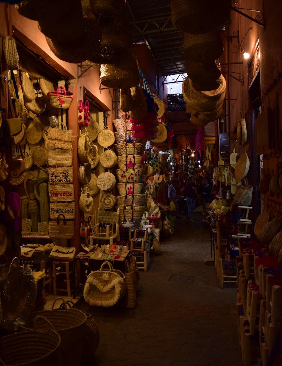 souk marrakech viagem marrocos roteiro