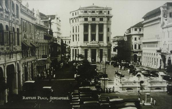 Cingapura Predio Banco Mercantil seculo 19