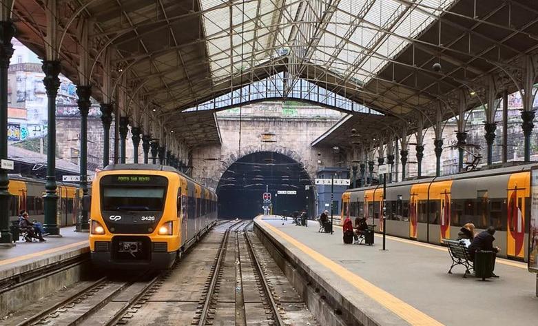 trem portugal espanha