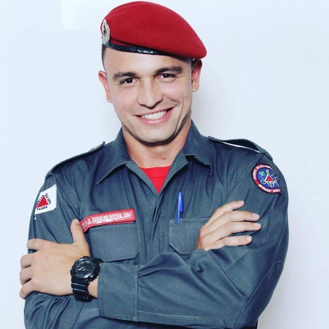 soldado geraldo bombeiro coronavirus
