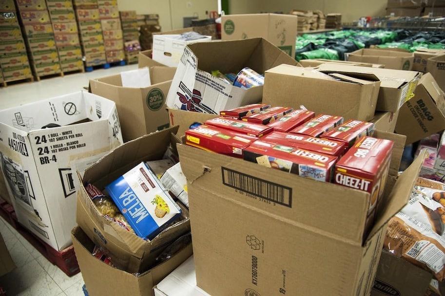 caixas de doacao de alimentos pandemia
