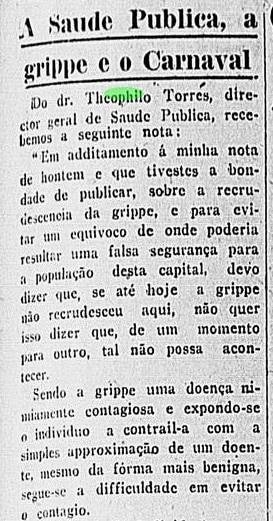 carnaval de 1919