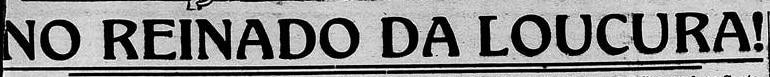 manchetes carnaval 1919