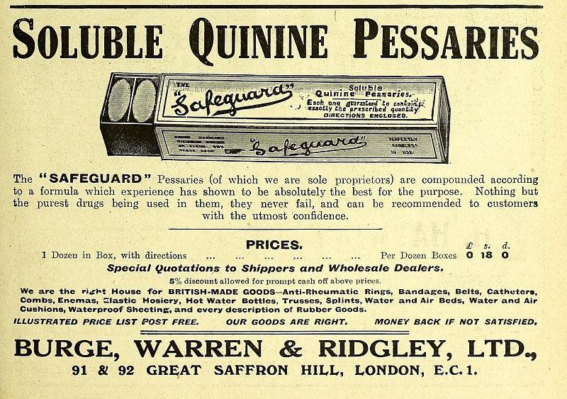 quinina remédio