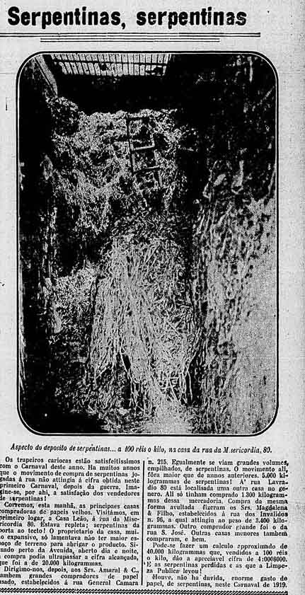 serpentinas carnaval 1919