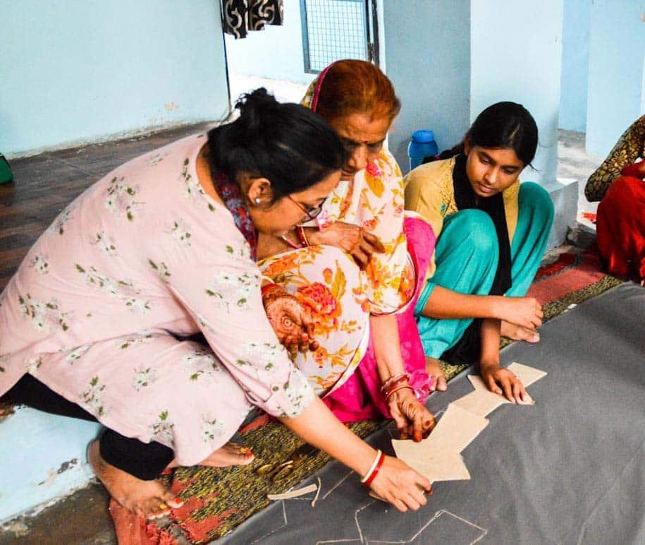 mulheres indianas confecção