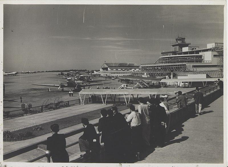aeroporto de congonhas no começo do século 20
