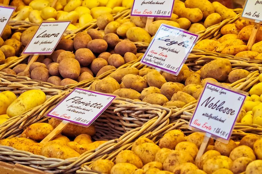 Pratos históricos nascidos de crises: batatas
