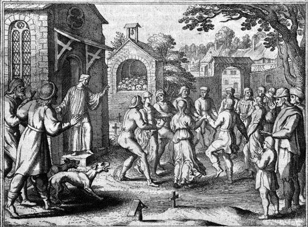 Pragas de dança na Europa Medieval
