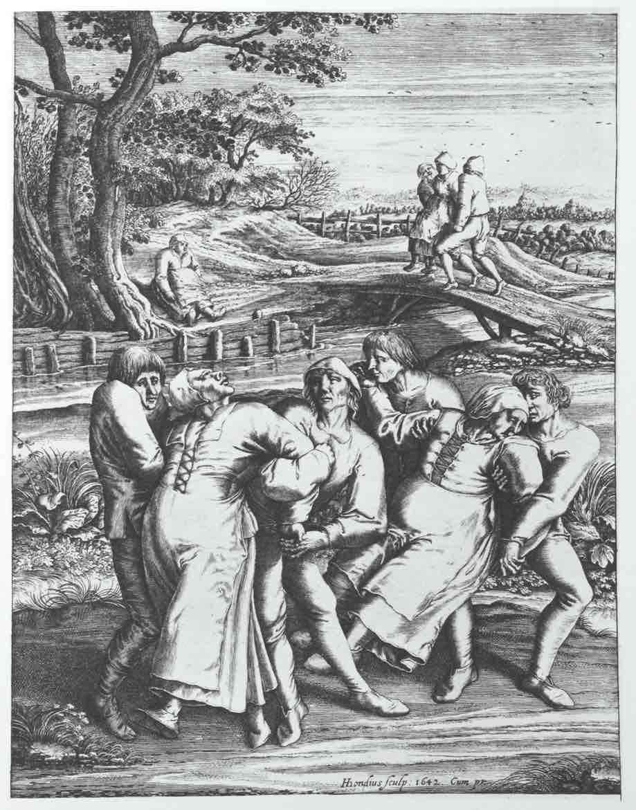 A Epidemia de dança de 1518