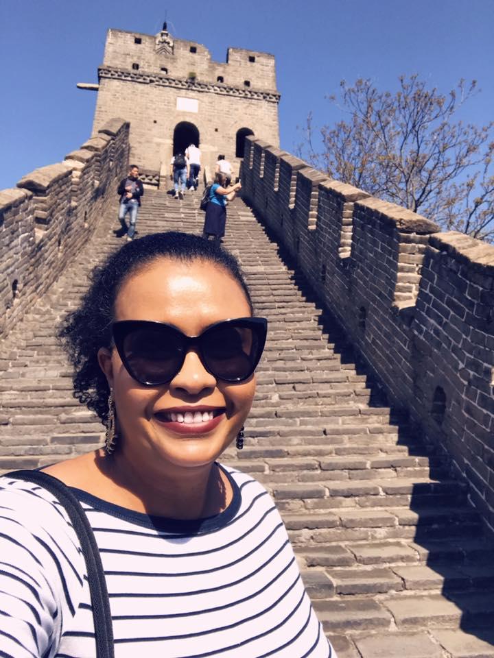 no mundo da paula muralha da china pessoas