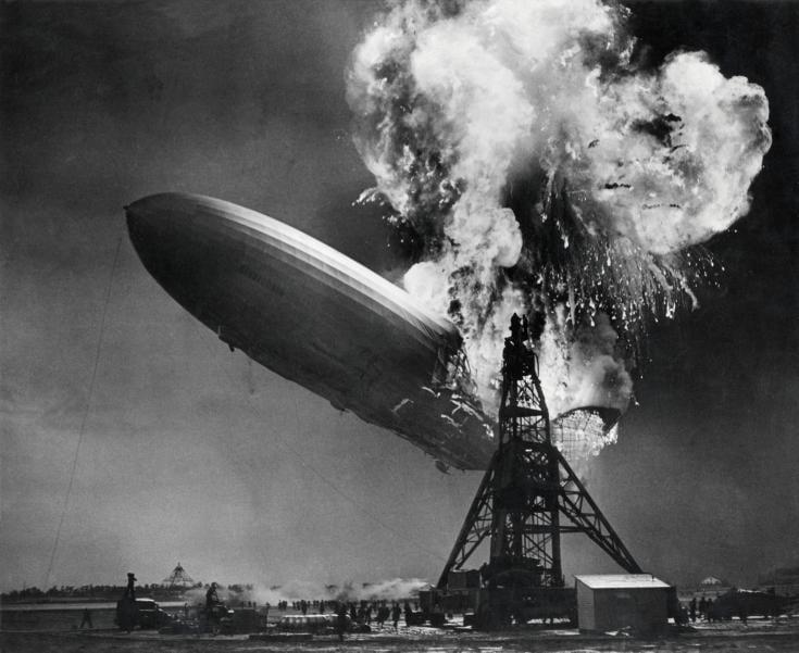 acidente com o Hindenburg