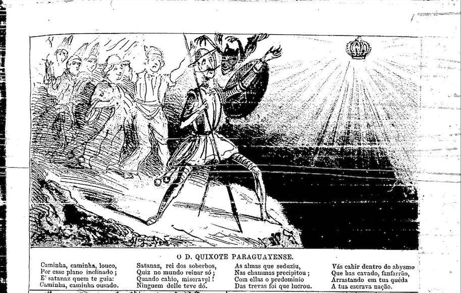 dom quixote paraguaiense 8 de janeiro 1865