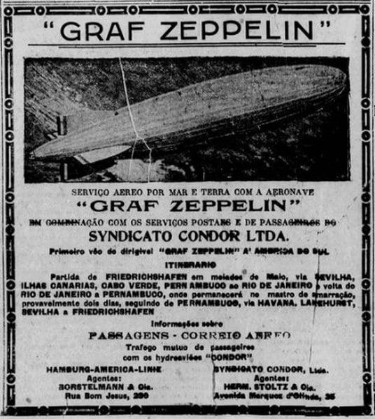 propaganda do graff zepellin