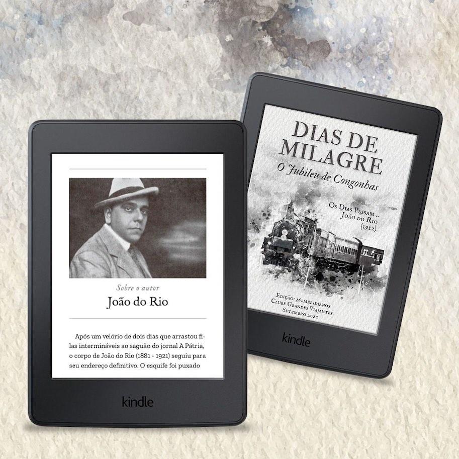 Dias de milagre sobre o autor kindle