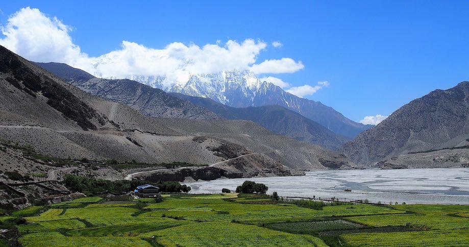 Montanhas da região de Mustang - Nepal