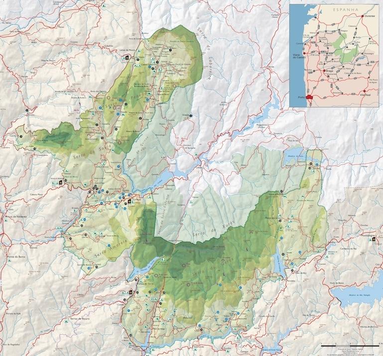 Mapa PNPG