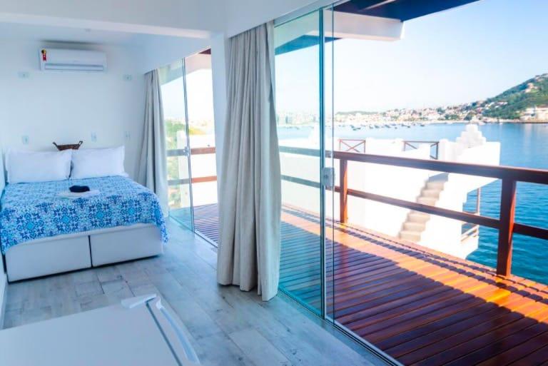 Casa com vista para o mar em Arraial do Cabo