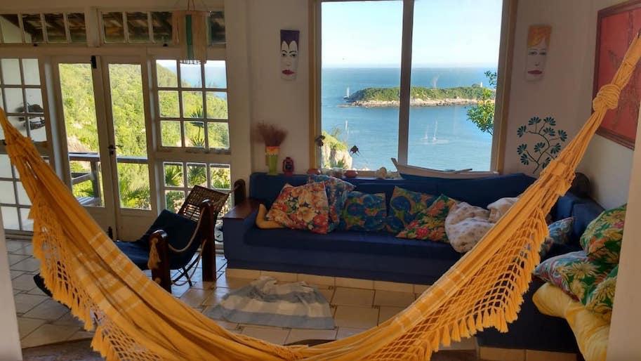 casa airbnb rio de janeiro barra de guaratiba