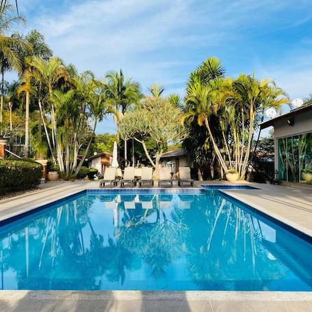 casa com piscina interior de sao paulo temporada