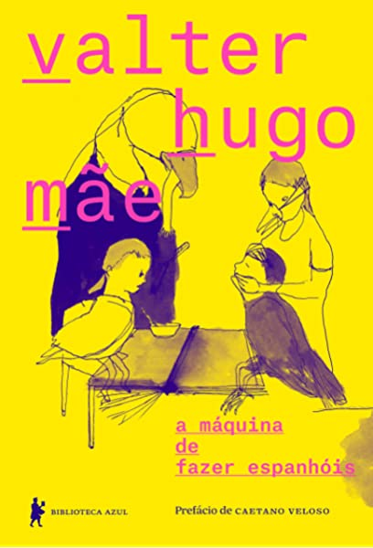 capa livro a maquina de fazer espanhois