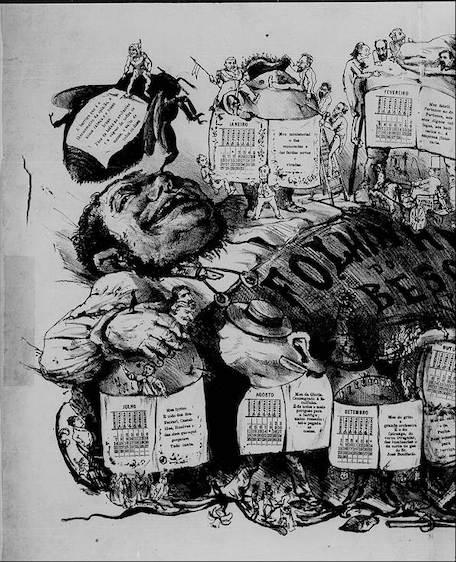 revista o besouro 1878 raphael bordallo pinheiro