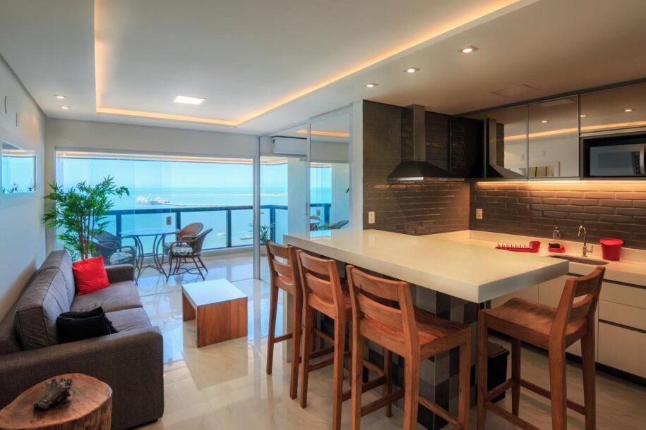 apartamento com vista pra praia de iracema, em fortaleza ceará booking airbnb