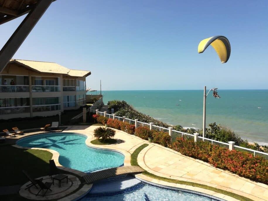 canoa quebrada kitesurf ceará praia céu mar aluguel de temporada booking