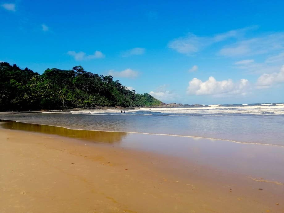 Praia de Engenhoca, Itacaré