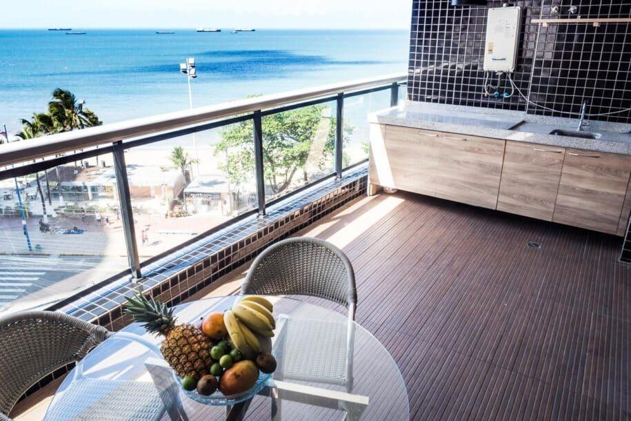 flat com vista da praia de Meireles em Fortaleza Ceará  Booking