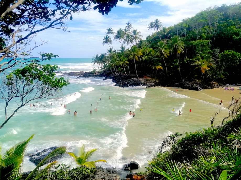 Vista do mirante de Havaizinho - Itacaré
