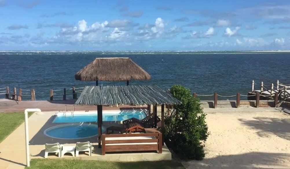 casa de praia para alugar na praia do saco