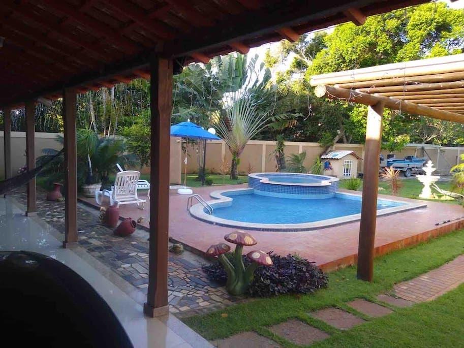 airbnb itaunas casa com piscina