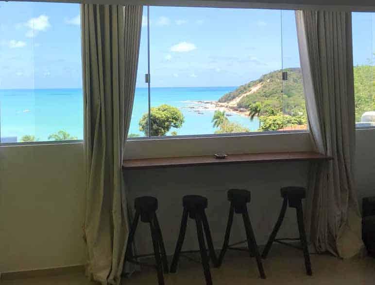 apartamento para alugar em natal com vista para a praia
