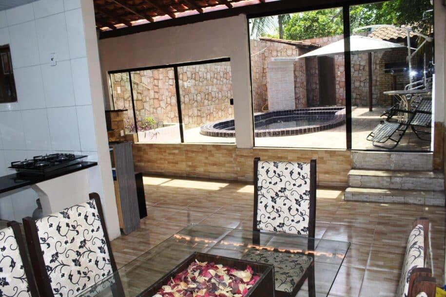 Casa grande com piscina para até 6 pessoas booking airbnb lençois maranhenses