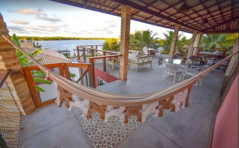 casa com vista para a lagoa em marechal deodoro alagoas