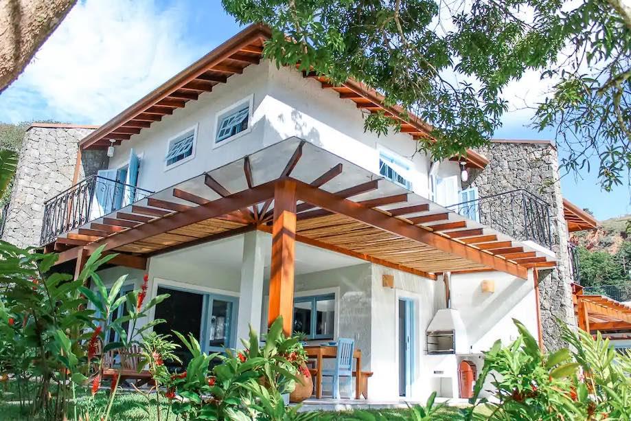 Casa de temporada airbnb em Ubatuba, praia das Toninhas